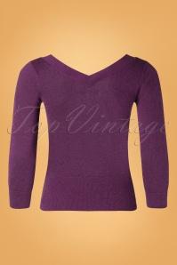 King Louie 29483 Double V Top Lapis Sparkling Purple20190621 008W