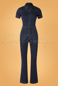 King Louie 29379 Jumpsuit Denim Blue20190620 002W