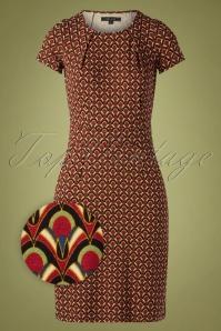 King Louie 29414 Mona Dress Calypso Cherry Red20190624 002Z