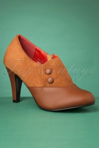 50s Maria Booties in Brown