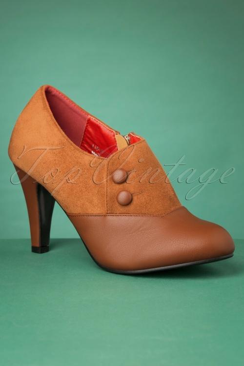 Lulu Hun 30512 Maria heels Brown 20190723 010 W