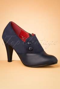 50s Maria Booties in Navy