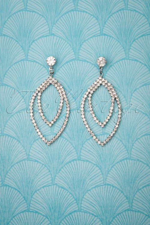 Collectif 30472 Mae Earrings Silver20190725 006W