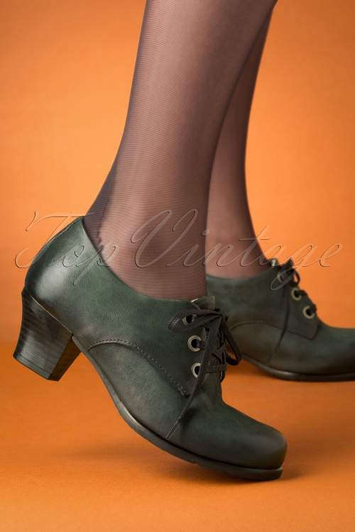 Miz Mooz 30041 Frasier Shoe Forest Green Heels 20190618 040 Recovered W
