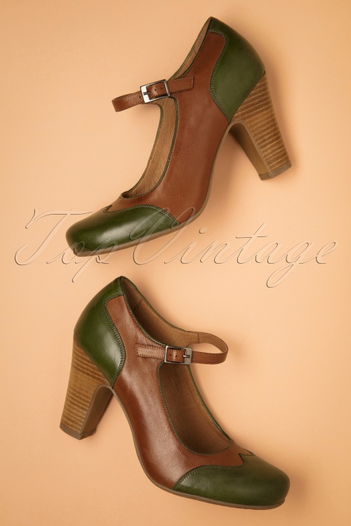 Miz Mooz 30044 Jazzy Brandy Green Brown Heels 20190618 026 W