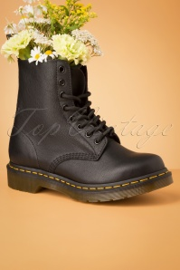 1460 Virginia Ankle Boots en Noir