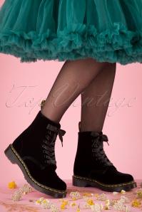 Dr Martens 29096 Docs Boots Black Velvet Pascal 20190724 011