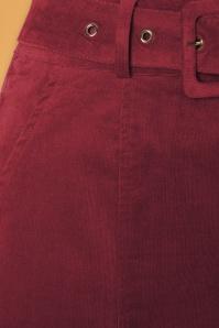 Louche 30122 Amir Burgundy Skirt 20190730 005W