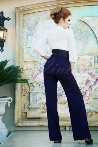 Vintage Diva 29634 Chloe Swing Pants in Navy 20190410 3W