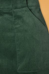 Louche 30130 Kris Corduroy Green Skirt 20190730 003W