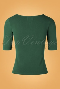 Bunny 30712 Philippa Top in Dark Green 20190730 003W