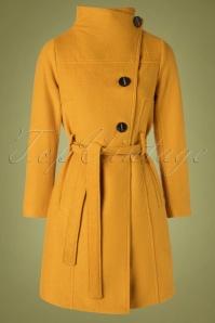 Bunny 30132 Mustard Yellow Rocco Coat 20190730 003W