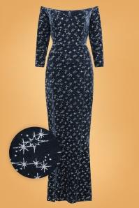 Collectif 29859 anjelica velvet maxi dress 20190415 021LW1