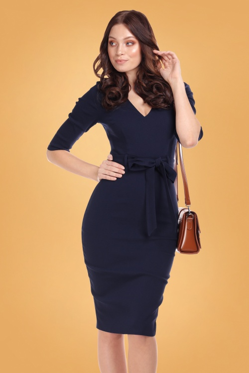 Collectif 29863 meadow pencil dress 20190415 020L