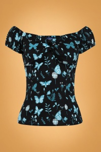 Collectif 29882 Dolores Midnight Butterfly Top 20190430 021L