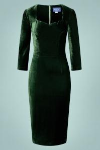 Collectif 29909 vanessa velvet pencil dress 20190415 021L A