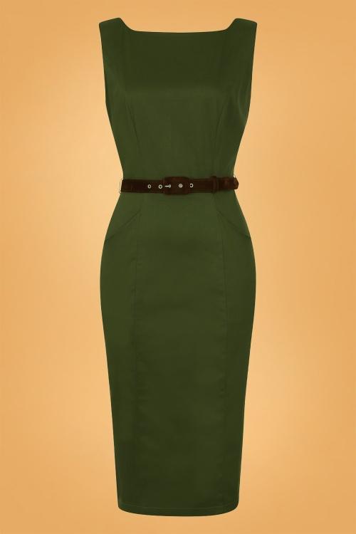 Collectif 29907 hepburn vintage pencil dress 20190415 021LW