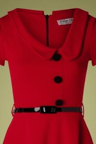 Vintage Chic 28721 Red Swing Dress 20190802 003 V