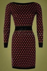 King Louie 29450 Audrey Dress Diamond Black20190705 003W