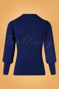 Compania Fantastica 29706 Jersey Jumper Blue 20190805 008 W