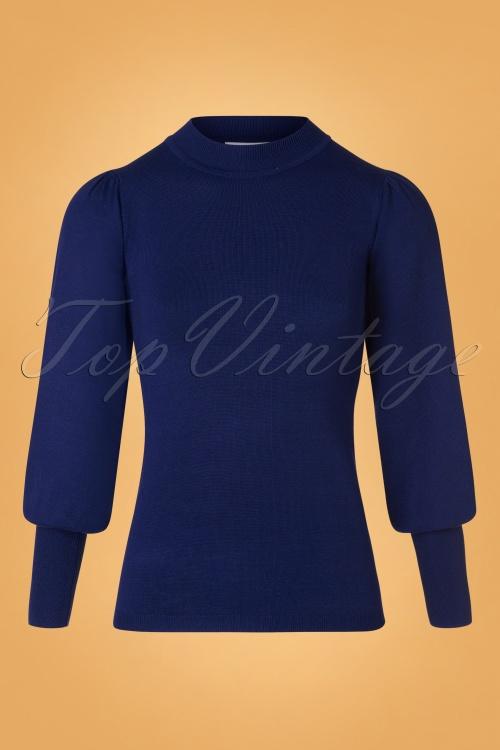 Compania Fantastica 29706 Jersey Jumper Blue 20190805 004 W