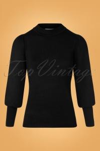 60s Gillian Jumper in Black