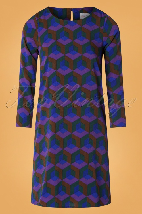 Compania Fantastica 29703 Vestido Blue20190805 004W