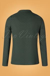 Compania Fantastica 29713 Blouse Green20190805 018W
