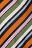 Compania Fantastica 29712 Falda Skirt Striped Orange Green Pink Blue 20190805 003