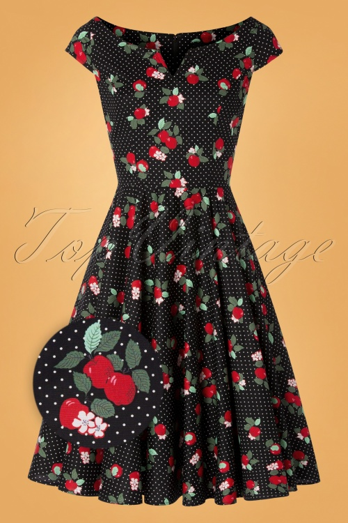 Bunny 30869 Apple Blossom Dress Black 20190807 003Z