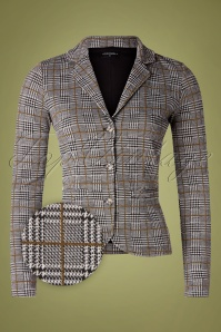 Vive Maria 50s Upper West Blazer in Grey