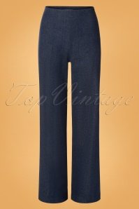 Very Cherry 40s Marlene Pants in Denim