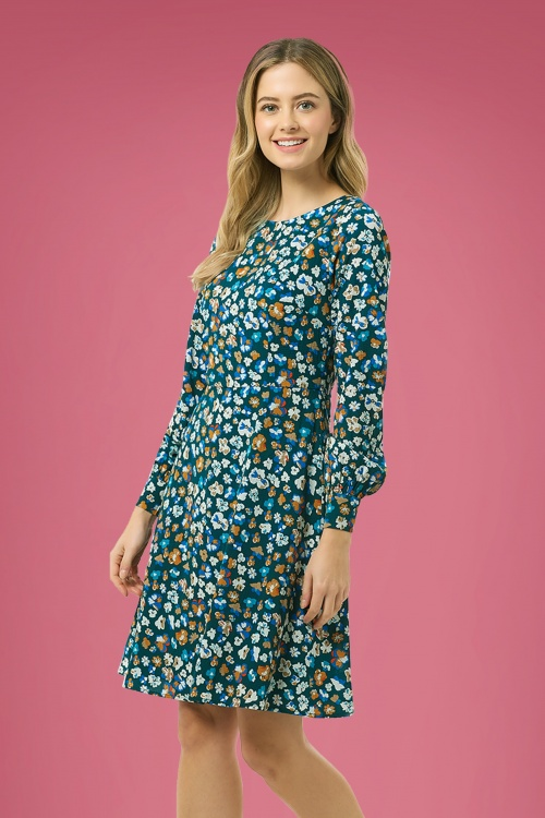 Sugarhill Brighton 30150 Samira Carnaby Street Floral Dress 20190807 020L