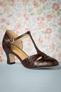 Charlie Stone 30776 Roma Tstrap Brown Heels Shoes 20190808 006 W