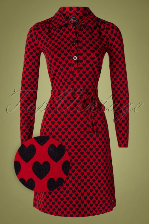 Tante Betsy 29184 Dress Trudy Hearts Red20190813 001 Z