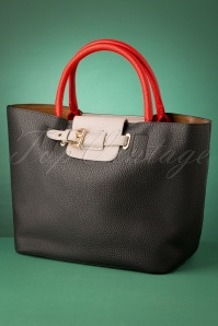 60s Eloise Secret Shopper Handbag in Black