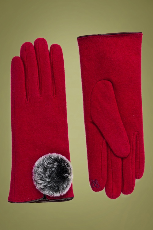 Amici 30365 Lucia Glove in Red 20190805 020L