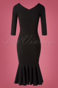 Vintage Chic 31171 Pencil dress Black20190814 006W