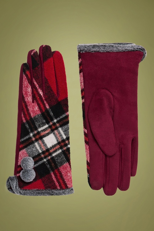 Amici 30367 Bonnie Glove in Red 20190805 020L copy