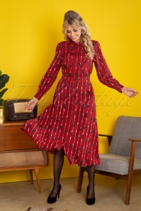 Pretty Vacant 29332 Melissa Dress Chimps Red 2470W