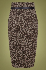 Collectif 29877 Caron Autumn Falls Pencil Skirt 20190604 022LW