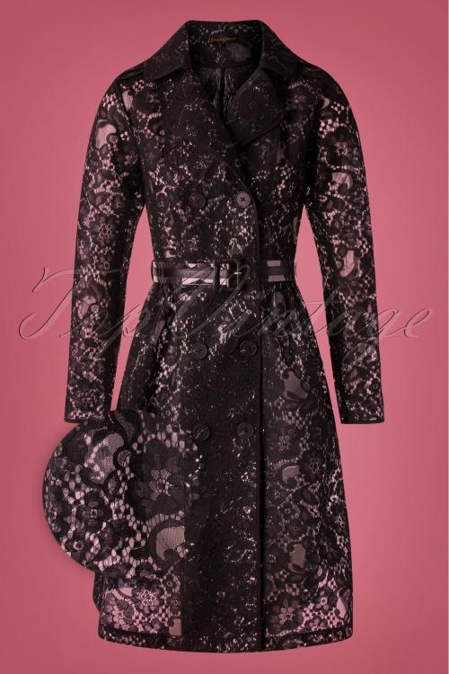 Grace Glam 29510 Rain Coat Black20190814 005Z