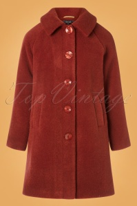 King Louie 29478 Betty Coat Fayette in Henna Red 20190722 004W