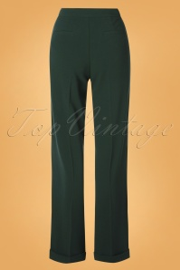 King Louie 29357 Ethel Pants Woven Crepe In Pine green20190621 007W