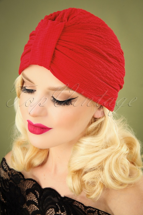 Brothers and Sisters 31200 Chatelet Turban Red 040M W