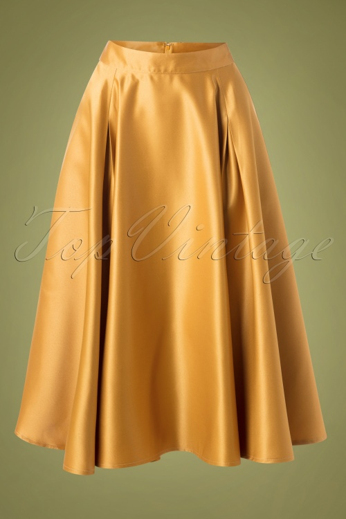 Banned 30666 Miracles Skirt Gold 20190529 001W