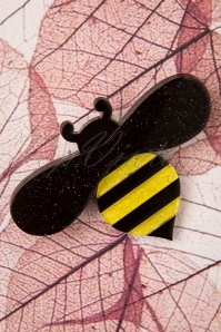 60s Babette Bee Brooch