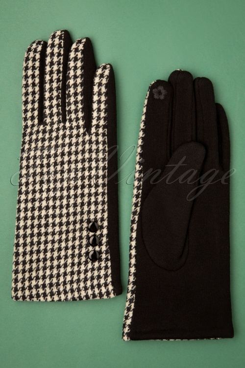 Vixen 30576 Golightly Gloves White Black 20190820 003 W