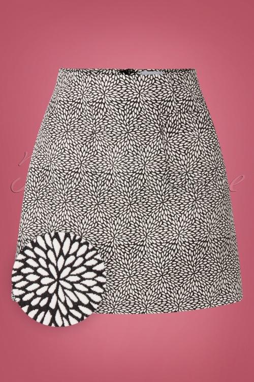 Banned Retro 30615 Jacquard Skirt 20190819 001W1