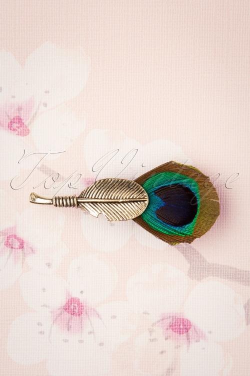 Darling Divine 31339 Brouche Multi Peacock 190814 001W